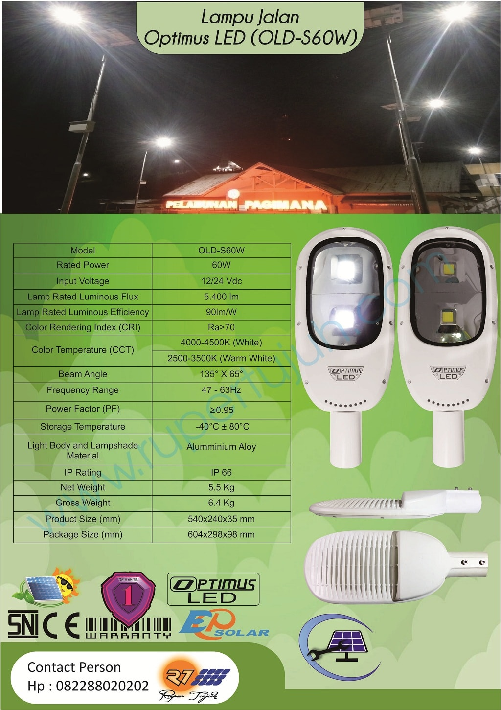 Optimus Led DC (OLD) S60W